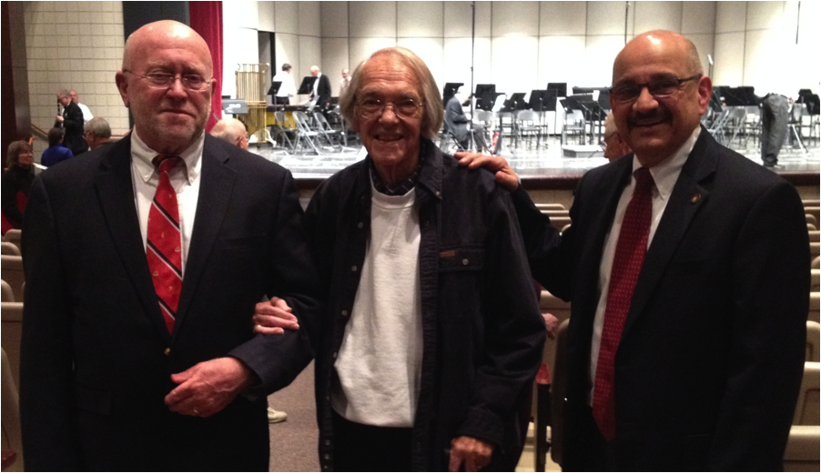 Directors: Jim Bennett, Dean Streator, Max Gonano (left to right)